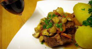 Bœuf bourguignon cuisine